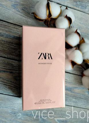 Zara wonder rose духи парфюмерия туалетная вода оригинал испания