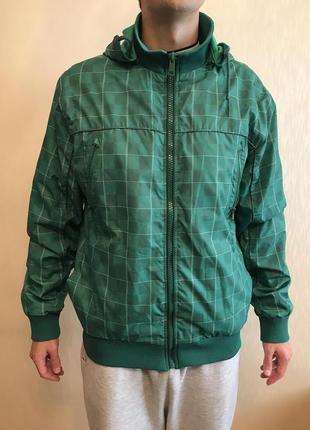 Мужская куртка на осень, демисезонная, двухсторонняя. Размер XL