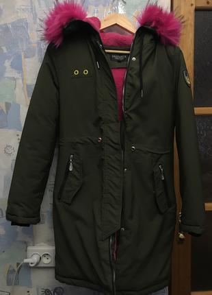 Куртка, парка для девочки подростка