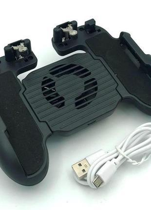Джойстик / геймпад для мобильного телефона H5 с охлаждением Black