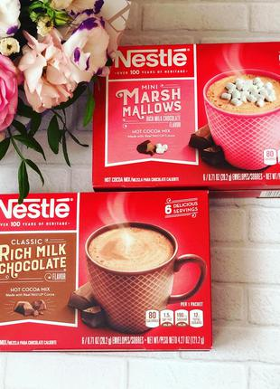 Какао nestle cocoa hot