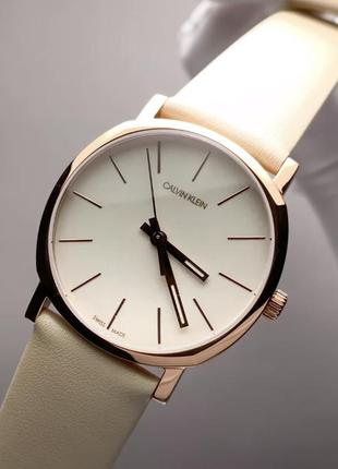 - 52% | женские швейцарские часы calvin klein posh k8q336...