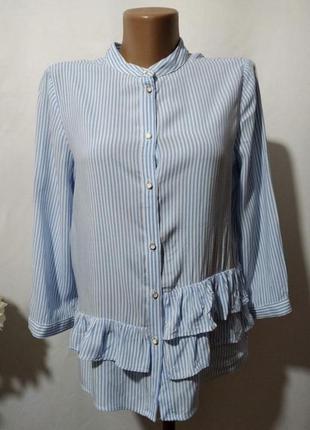 Рубашка в полоску , блуза от zara