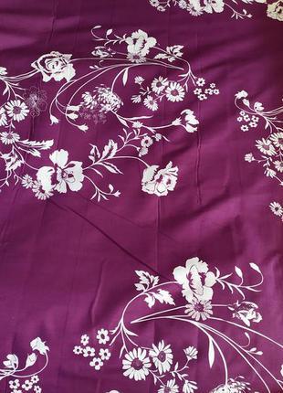 Простыни из бязи - цветы на фиолетовом, все размеры, разные ра...