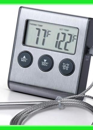 Цифровой термометр TP-700 для духовки (печи) с выносным датчик...