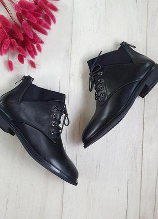 Ботинки на шнуровке, женские 2020🆕ботинки на низком каблуке 🆕ч...
