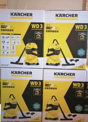 Пилосос Karcher WD 3
