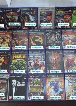 Лицензионные диски PS2 / Crash / God of War / Legacy of Kain /...