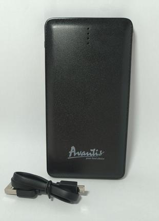Power Bank Avantis A382 10500 mAh /Micro/lightning Black