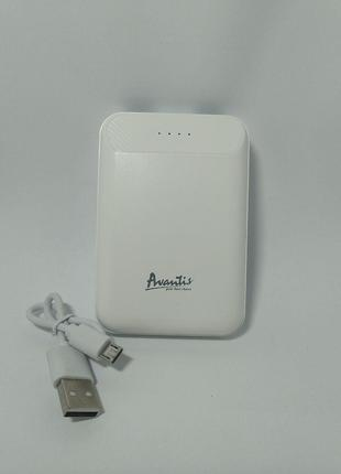 Power Bank Avantis A328 Mini 10000 mAh White