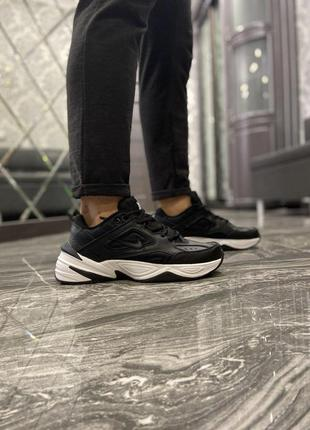 Nike m2k tekno tekno black white шикарные женские кроссовки на...