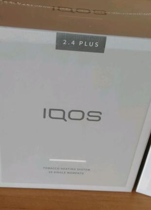 Новые IQOS 2.4 plus Белые Официальная гарантия