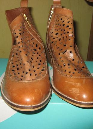 Сапоги ботинки челси кожа delux h&m размер 39 по стельке 25 см...