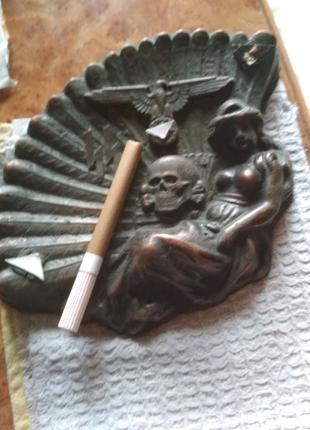 Пепельница медь