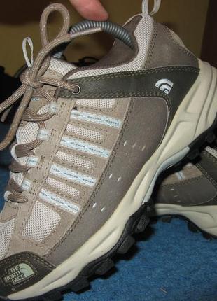 Кроссовки ботинки the north face кожа и замша оригинал размер ...