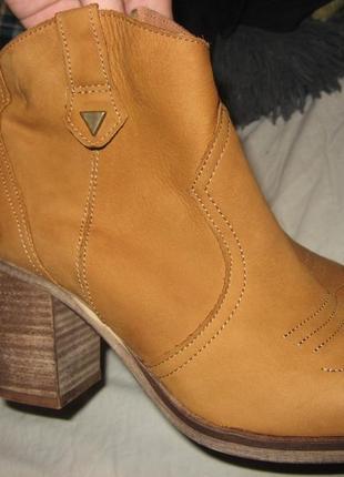 Сапоги ботинки туфли на каблуке piure оригинал кожа нубук