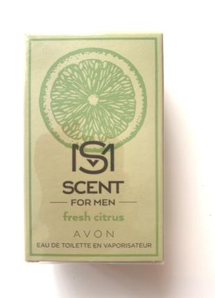 Avon Scent Fresh Citrus чоловіча туалетна вода