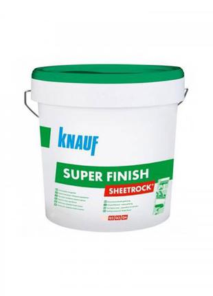 Knauf Шпатлевка SuperFinish (Sheetrock) акриловая финишная 28кг