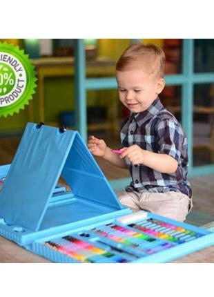 Набор для детского творчества 208 предметов Отличный подарок)