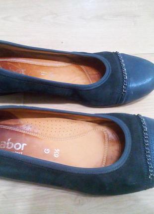 Шкіряні туфлі gabor 40