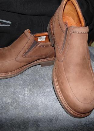 Туфли ботинки из натуральной кожи нубук henley оригинал