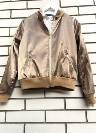 Тонкий,легкий,атласный бомбер,куртка,ветровка, франция