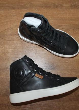 Кожаные ботинки ecco s7 teen 780002