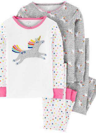Хлопковый комплект, набор пижам carters