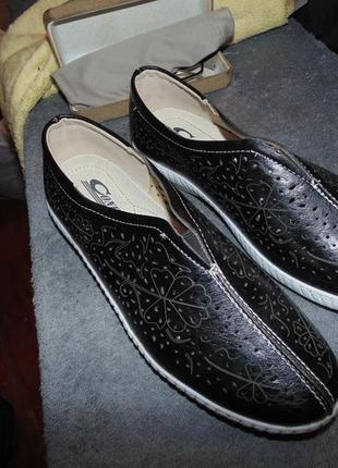 Туфли мокасины кеды comfort кожа новые