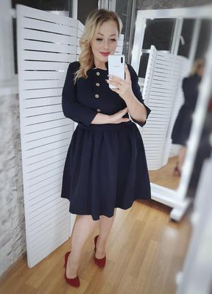Платье синее цвета в ассортименте
