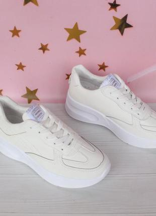 Белые кроссовки, кеды 37, 38, 39 размера