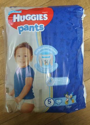 Huggies pants 5 (12-17 кг)