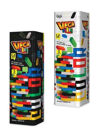 Джанга Цветная Падающая Башня Vega Баланс настольная игра дженга
