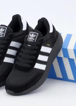 Кроссовки adidas iniki black/white