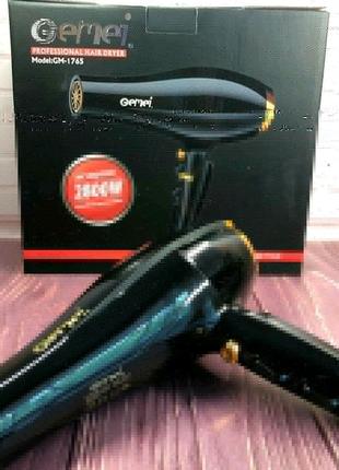 Фен для волос  Gemei GM 1765