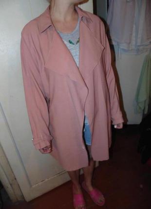 Легкий весенний летний плащ тренч куртка пальто новое new look