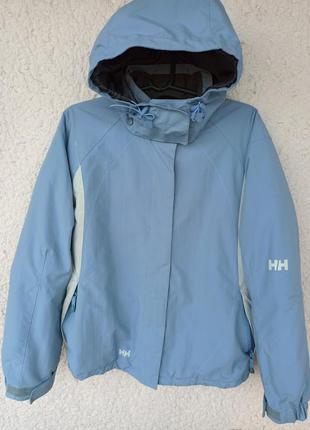 Куртка helly hansen xs с капюшоном лыжная