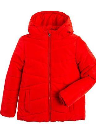 Качественная яркая зимняя курточка девочке cool club