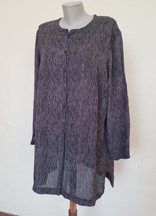 Удлинённая блуза рубашка туника