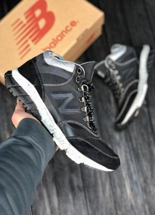 Кроссовки new balance 710 black/grey