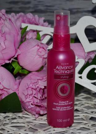 Спрей для укладки волос с защитой от теплового воздействия avo...