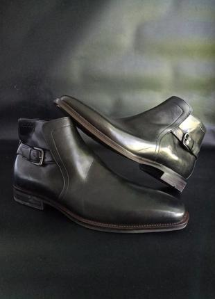 Кожание ботинки ecco faro, оригинал, 42,43,45