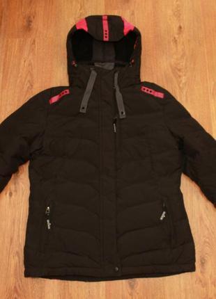 Пуховик теплая спортивная куртка charles vogele cutting edge 3...