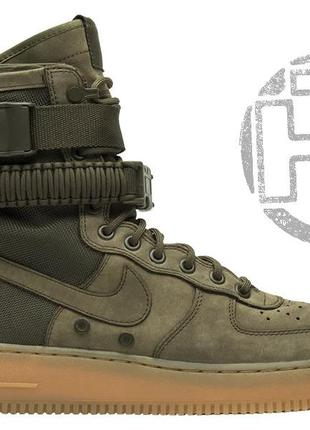 Женские кроссовки nike special field air force 1 olive gum 859...