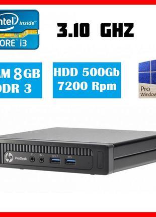 HP ProDesk 600 G1 DM MFF Core i3 4160T 8gb RAM 500gb HDD