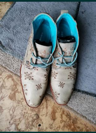 Мужские кожаные туфли. Размер 42.