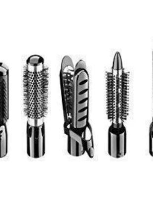 Стайлер для волос, Фен GM 4835, Фен щетка с насадками