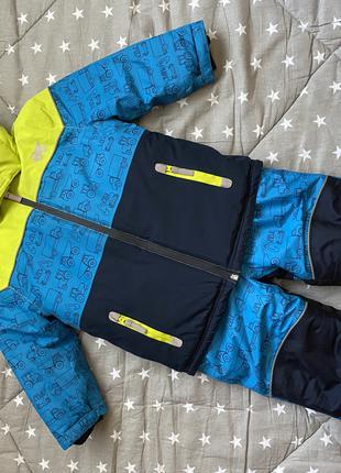 Зимний комплект (куртка+полукомбинезон) topolino
