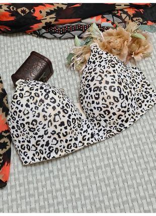 Леопардовый бюстгалтер/бюст леопард