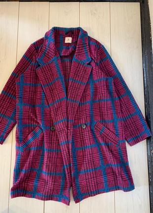 Пальто на тёплую осень большого размера